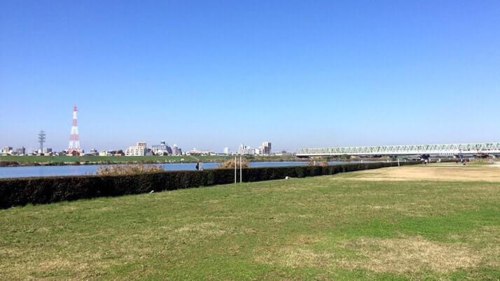 市川河川敷でのBBQ!寒い季節も外で過ごす時間は楽しい!