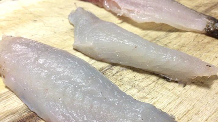 ムラソイの刺身とネギトロ!皮は湯引き!ムラソイは絶品釣り魚