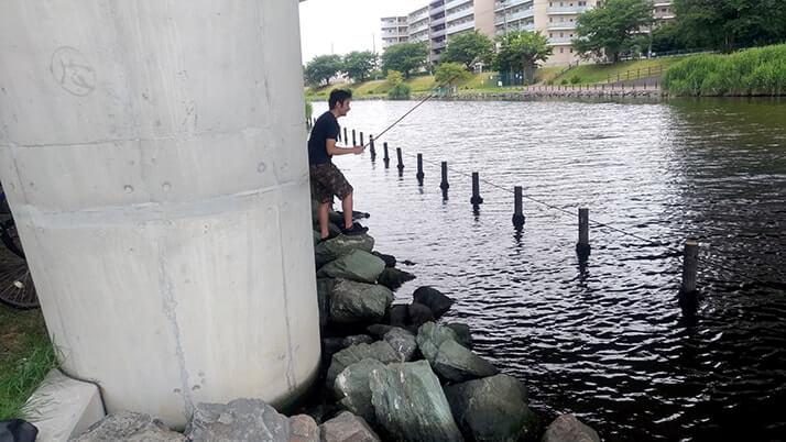 マハゼにヌマチチブ!旧中川水辺公園でお手軽東京都内川釣り