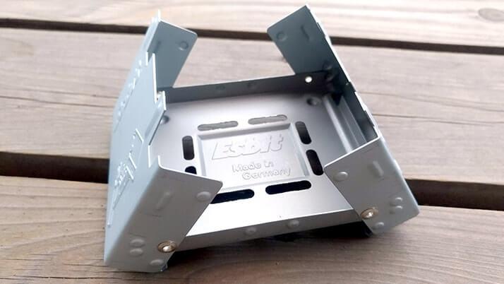 エスビット(Esbit) ポケットストーブ愛用中!持ち運び簡単超便利