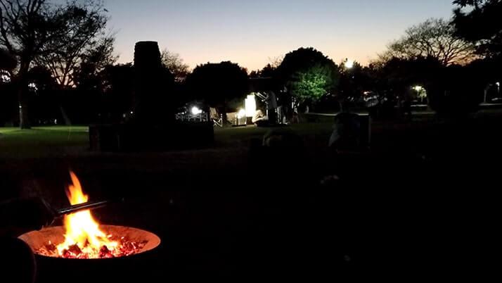 若洲海浜公園でデイキャンプ!釣りは不発もキャンプ飯うま〜