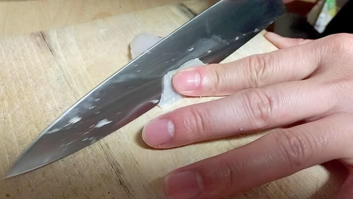 カサゴとムラソイ刺身の薄造りに挑戦!残ったアラはあら汁に!!