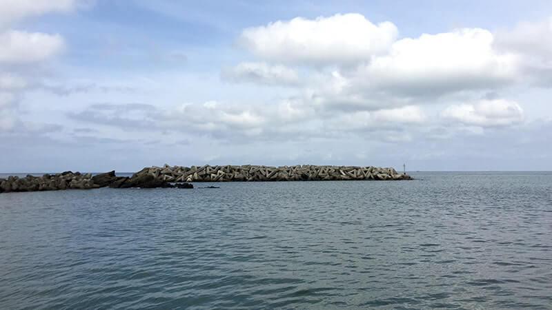 千葉館山で堤防釣り!梅雨合間にアナゴ・ガザミ・カマス…五目釣り