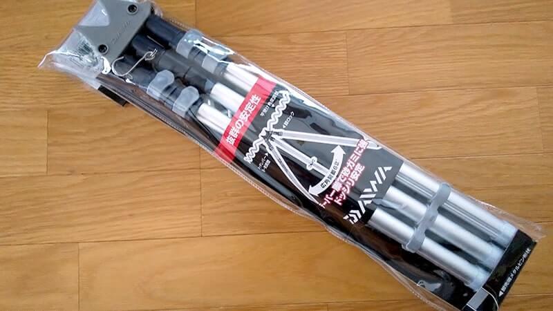ダイワ(Daiwa)の竿立て三脚「サーフスタンドmini3」がすんごく良い【釣り具レビュー】