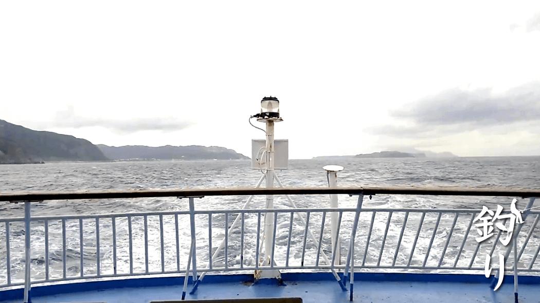 新島釣りキャンプ最終日|短い時間ルアー投げるも不発…船で帰路につく【最終日】