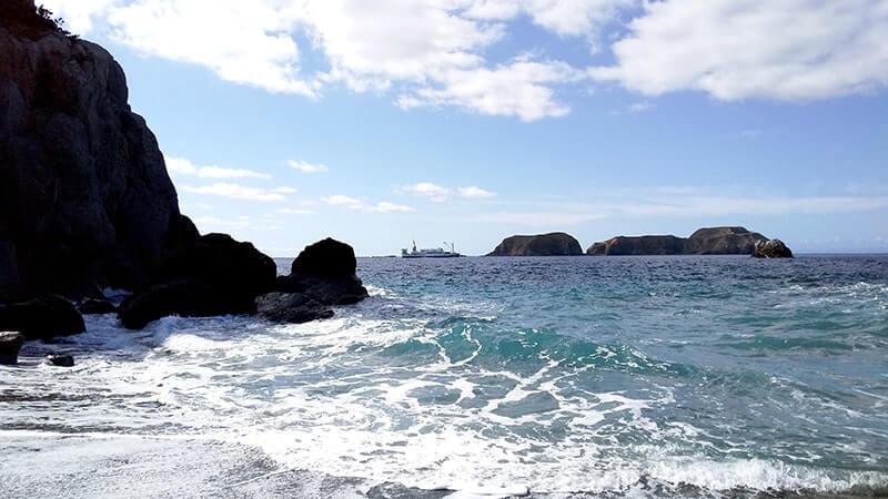 サーフからの堤防釣り!大物バラして涙の五目釣り|新島釣りキャンプ【DAY2 後半】