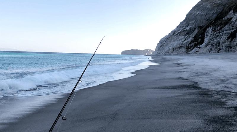 サーフフィッシングの聖地で釣りをするも…魚には出会えず|新島釣りキャンプ第二弾【DAY3 後半】