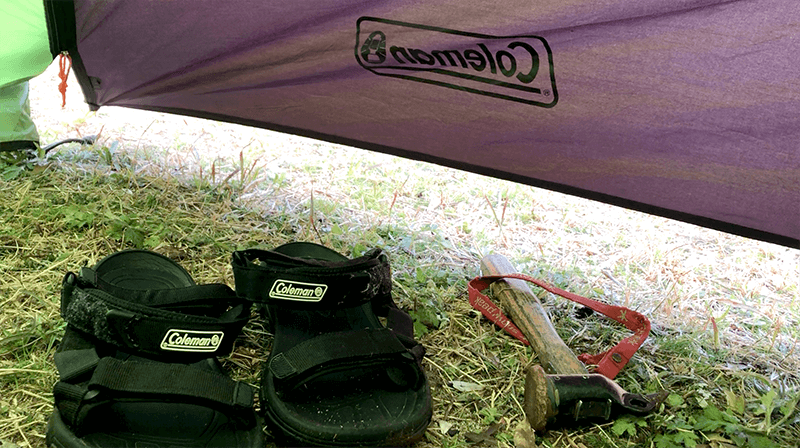 カンパチの和風カルパッチョとサバカレーで釣りキャンプ飯|新島釣りキャンプ第二弾【DAY4 ランチ】