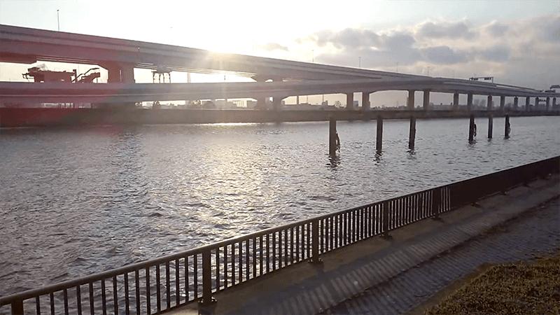 シーバス釣りバチ抜け終盤戦!中川でにょろにょろテロテロ巻きで1本HIT