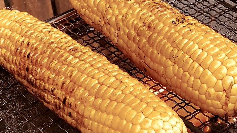 デイキャンプ風に庭BBQ!夏野菜とビールで楽しむ夏|家でキャンプごはん【キャンプ料理レシピ】