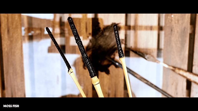 自作竹竿(タナゴ和竿)で釣りがしたくて3本継の釣竿作りに挑戦