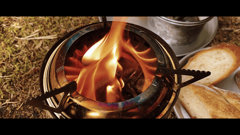 ほんのり田舎暮らし始めました|移住|焚火珈琲と蜂蜜パン|カジュマル植樹