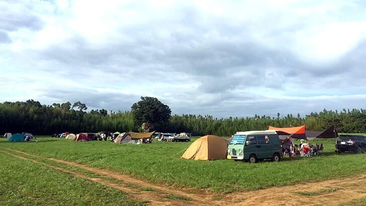 千葉市原『一番星ヴィレッジ』の自然空間でオートキャンプ!